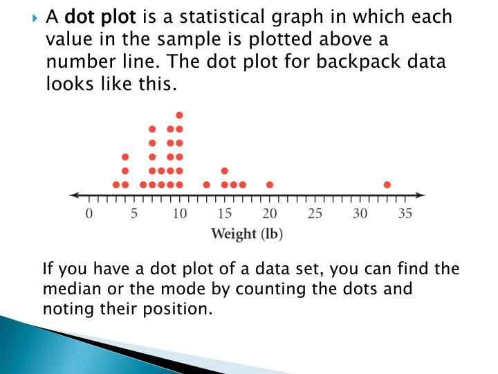 PPT - Measures of Central Tendency and Dot Plots PowerPoint