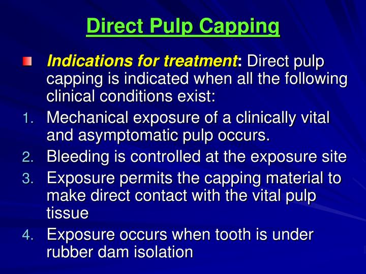 PPT - Materials Used To Preserve Pulp Vitality PowerPointevaluation
