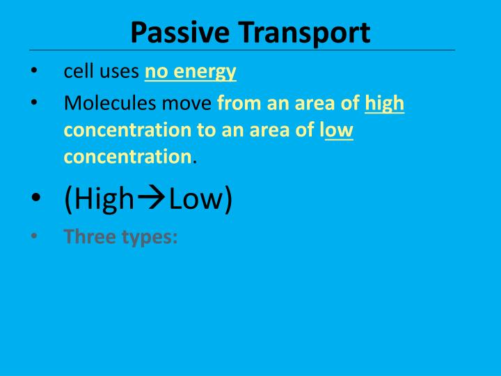 PPT - Cellular Transport Through the Cell Membrane PowerPoint