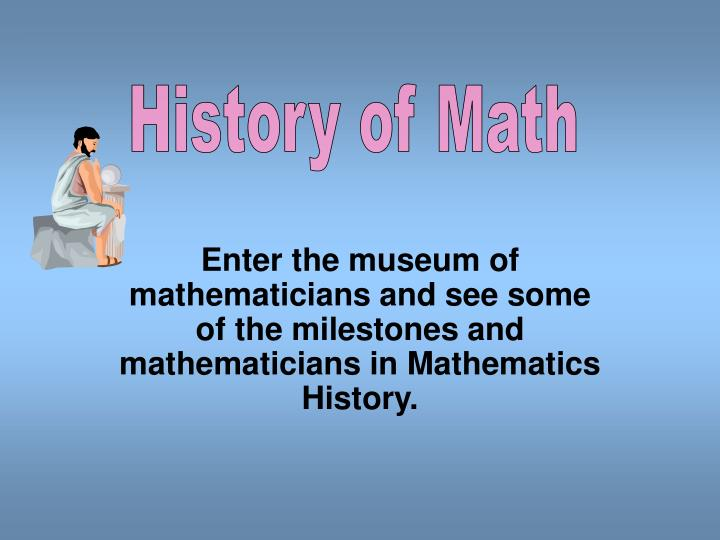 PPT - History of Math PowerPoint Presentation - ID2985950