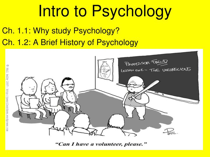 PPT - Intro to Psychology PowerPoint Presentation - ID3104901