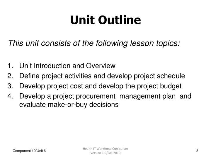 PPT - Project Management, Unit 6 PowerPoint Presentation - ID3115631
