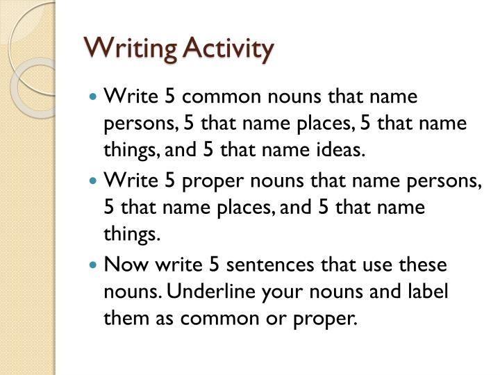PPT - Chapter 2 Nouns, Pronouns, and Adjectives PowerPoint