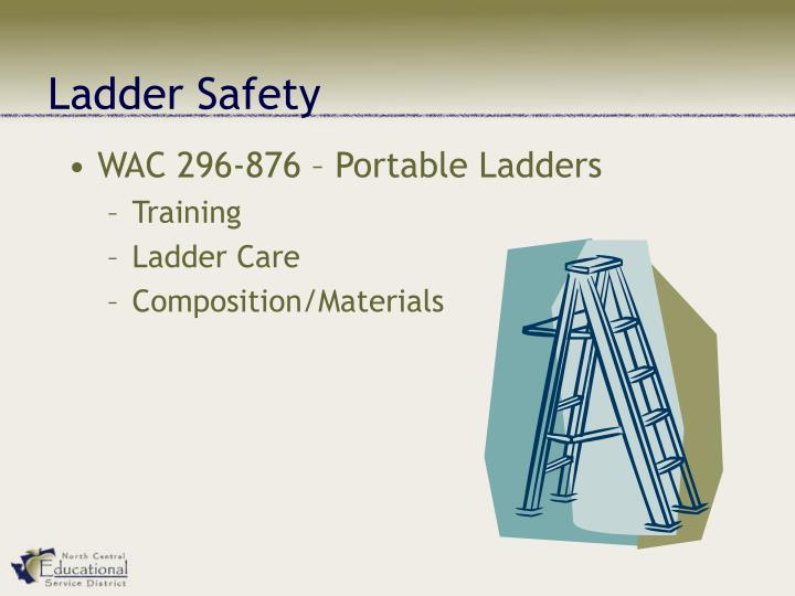 Ppt Ladder Safety Training Date Powerpoint Presentation