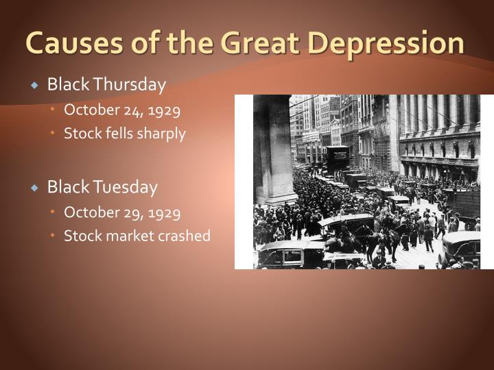 Causes for the great depression essay Coursework Writing Service - the great depression causes and effects