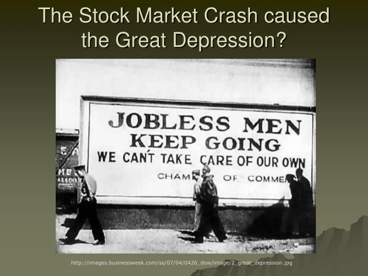 PPT - The Great Depression 1929-1940 Causes and Lessons PowerPoint