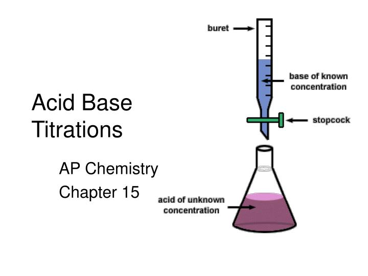PPT - Acid Base Titrations PowerPoint Presentation - ID3207796 - titrations