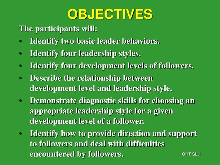 PPT - OBJECTIVES PowerPoint Presentation - ID3211900