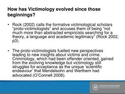 PPT - History of Victimology PowerPoint Presentation - ID ...