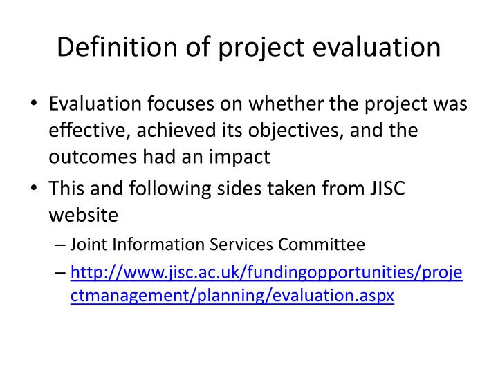 PPT - Evaluation PowerPoint Presentation - ID3413416