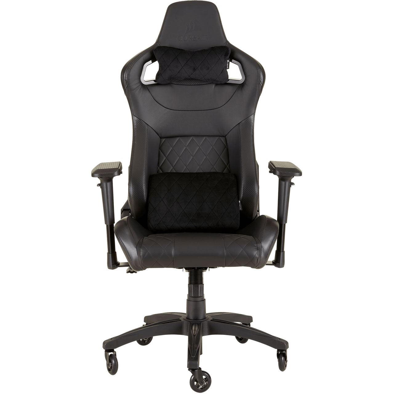 Gaming Sessel Netzteil Corsair T1 Race 2018 Gaming Chair Black Black