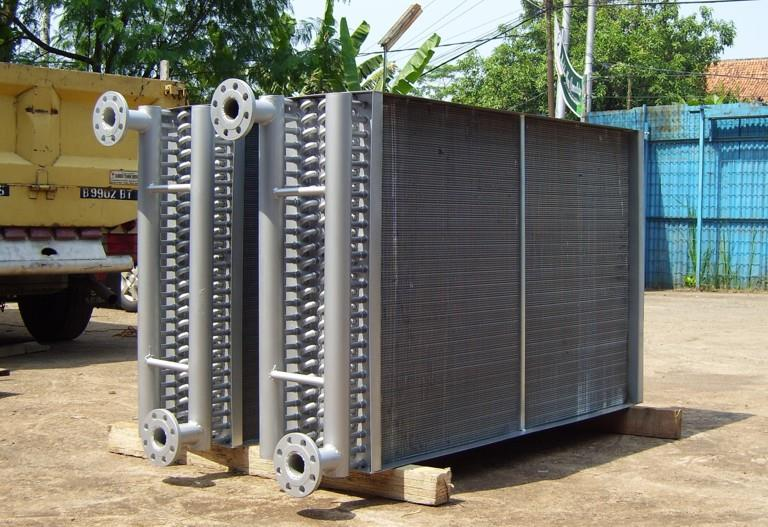 Sell Water Cooled Heat Exchanger Water Heater Coil Cooling