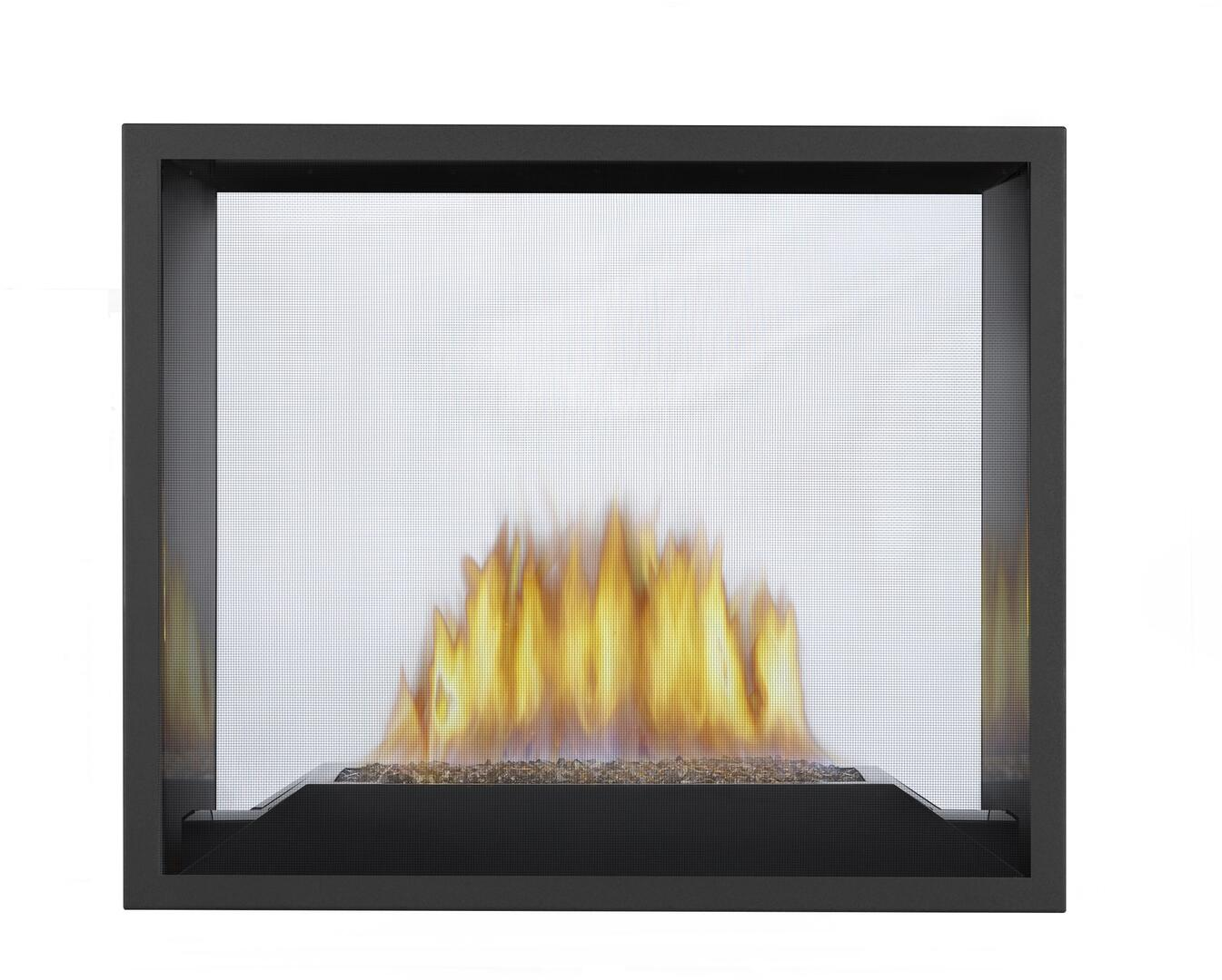 Glass Screen For Gas Fireplace Napoleon Hd81nt1