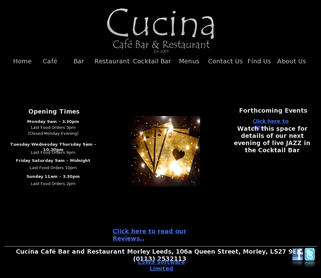 Cucina Restaurant Morley Cucina Café Bar And Restaurant Competitors Revenue And