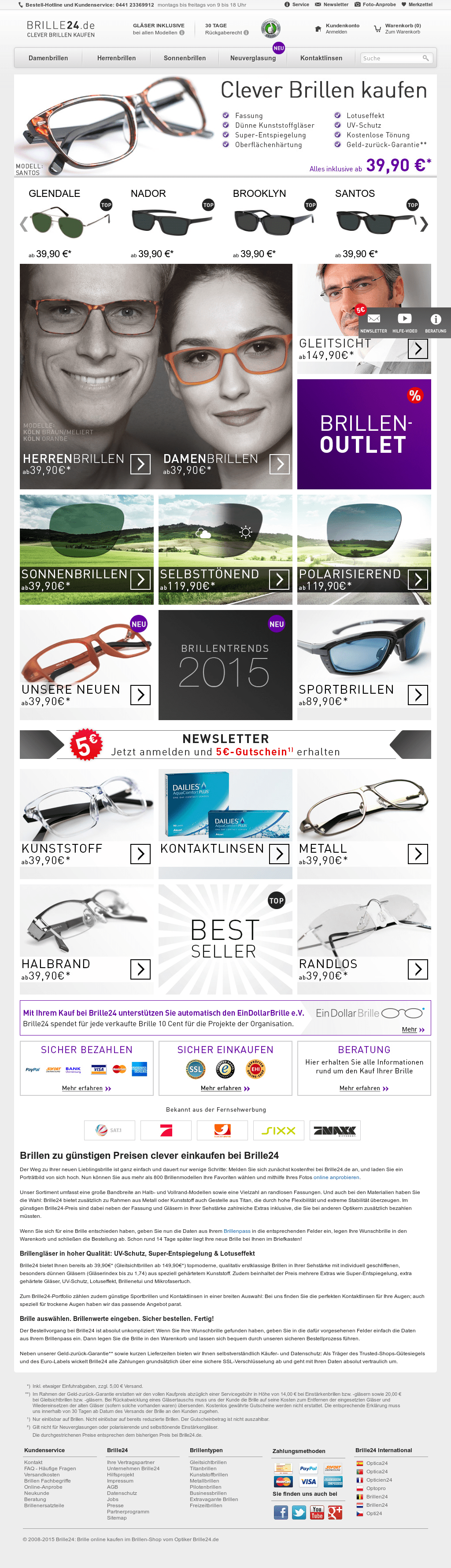 Test Optiker 2015 Brille24 Competitors Revenue And Employees Owler Company