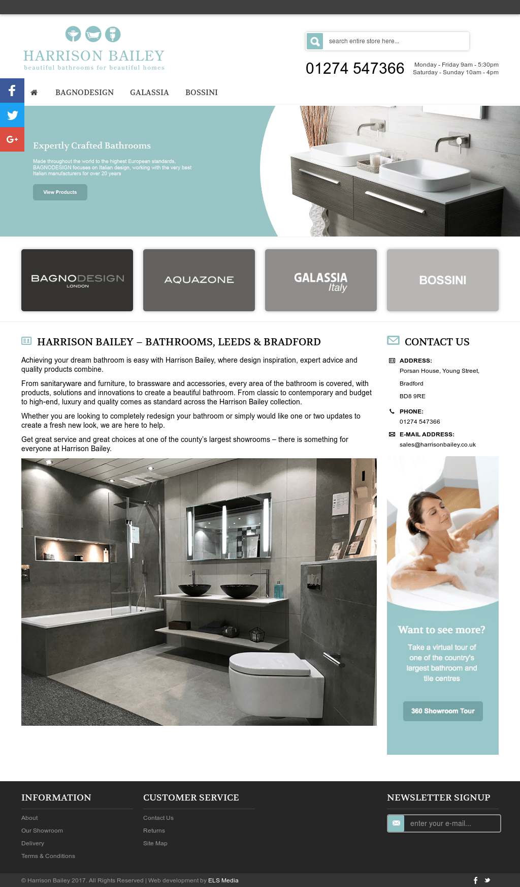 Bagno Design Bradford The Harrison Bailey Company Limited Competitors Revenue And