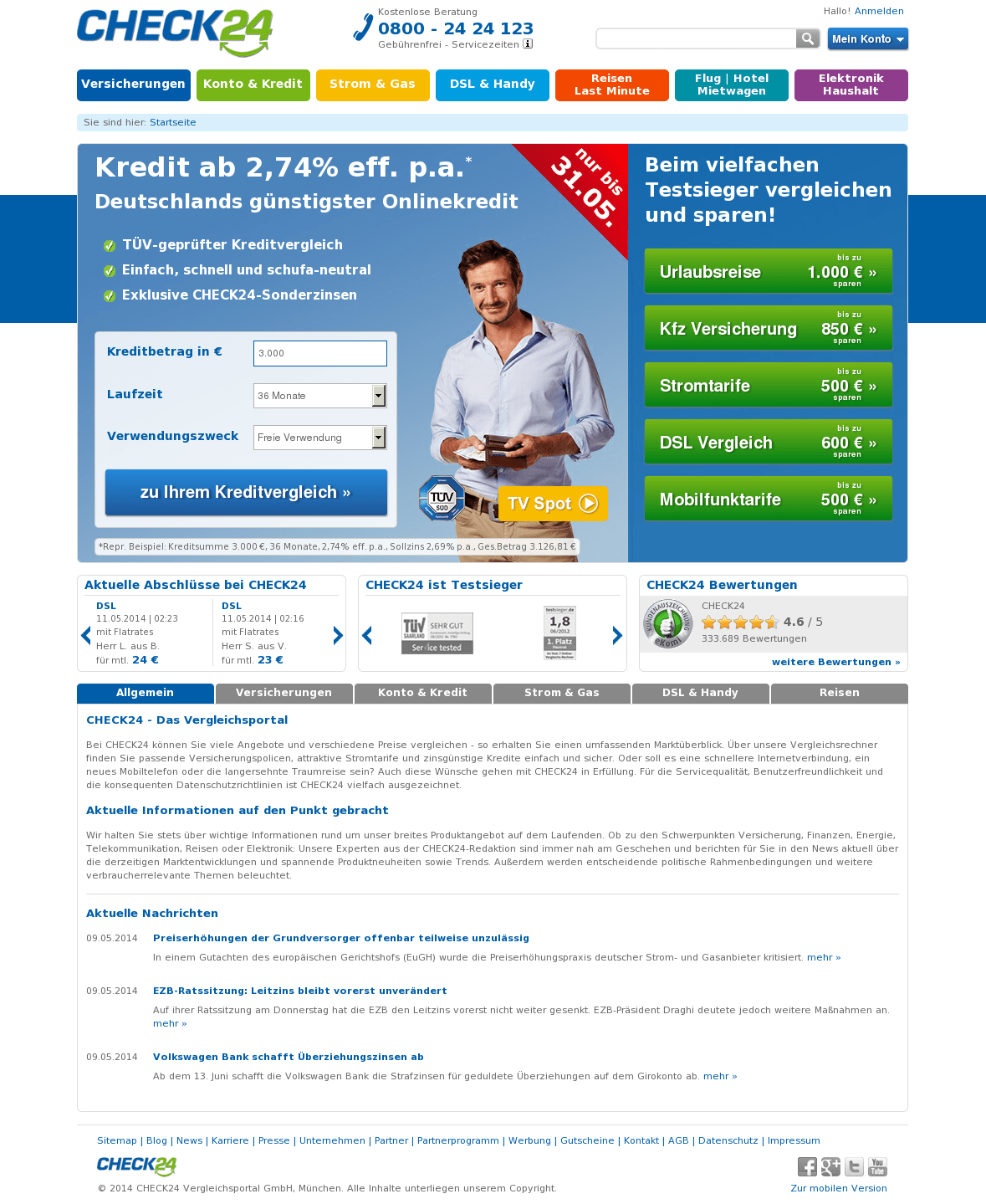 Www Check 24 Check24 Competitors Revenue And Employees Owler Company Profile