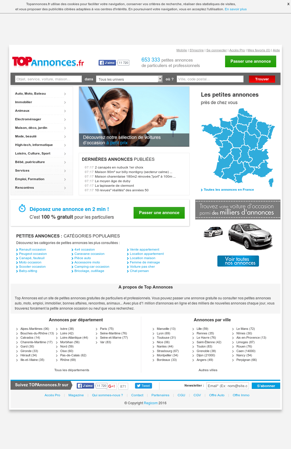 Rennes Marseille Pas Cher Topannonces Competitors Revenue And Employees Owler Company Profile