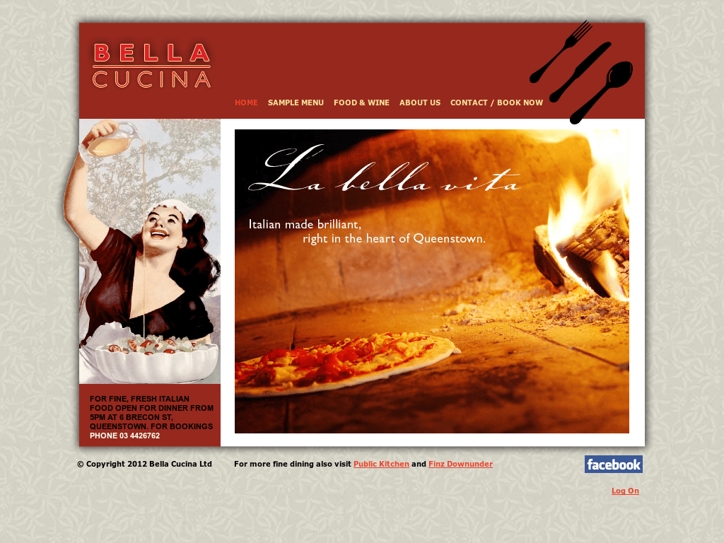 Bella Cucina Menu Queenstown Bellacucina Competitors Revenue And Employees Owler Company Profile