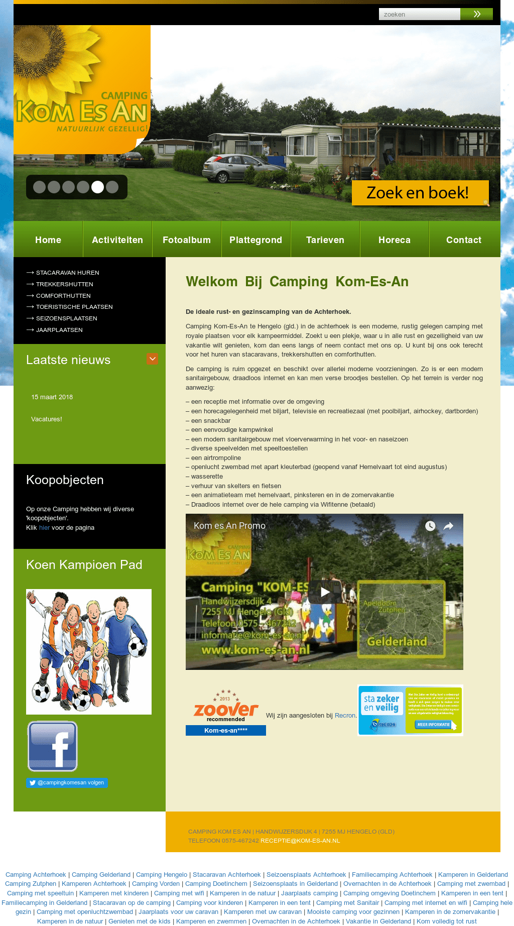 Camping Zwembad Apeldoorn Camping Kom Es An Competitors Revenue And Employees Owler