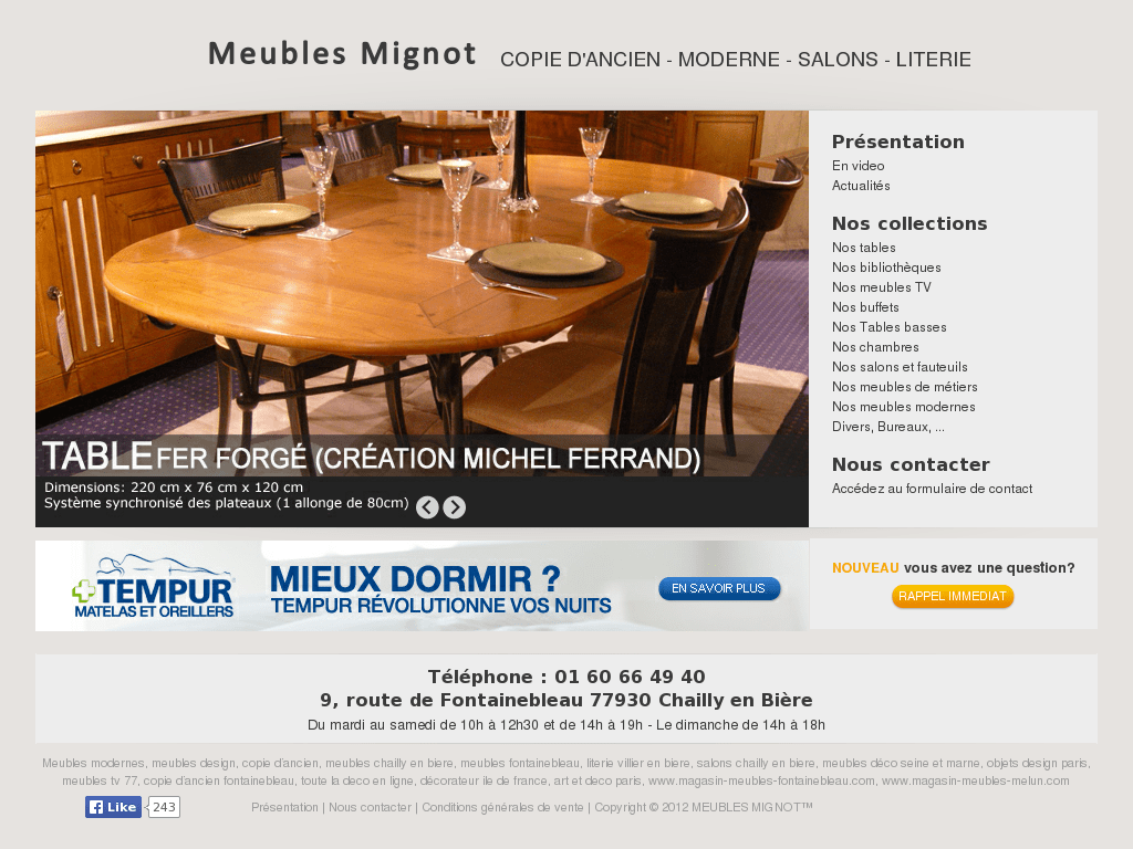 Meuble Weba Table De Salon | Modern Contemporary Furniture Design ...