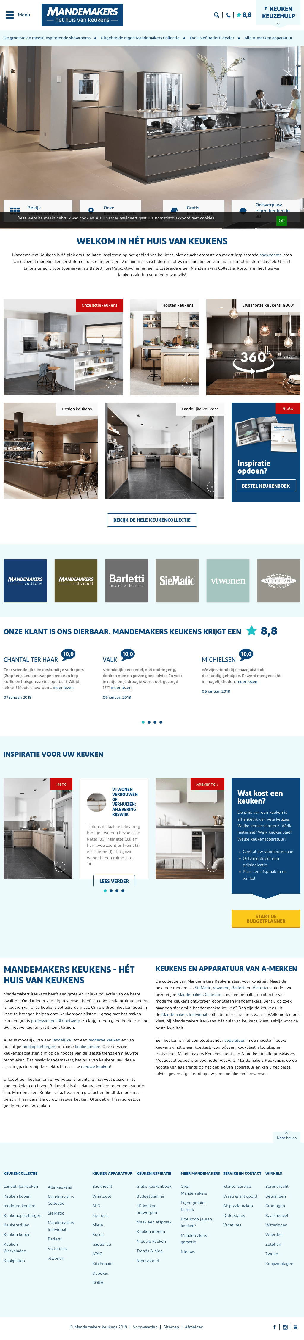 Keuken Ontwerpen Mandemakers Mandemakers Keukens Competitors Revenue And Employees Owler