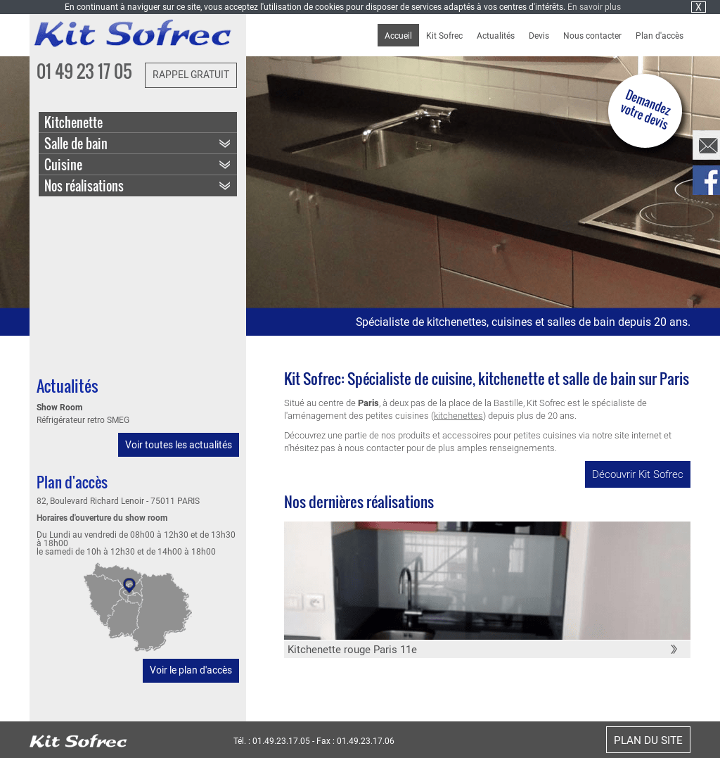 Kit Accueil Salle De Bain Kit Sofrec Competitors Revenue And Employees Owler Company Profile