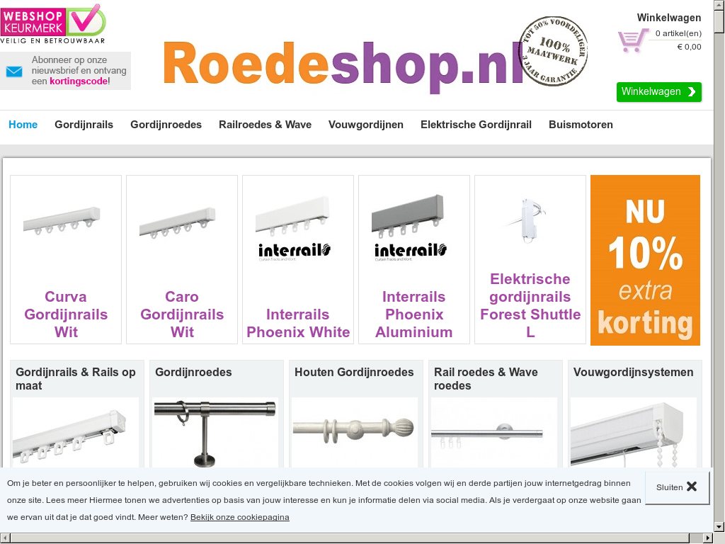 Forest Gordijnrails Roedeshop Nl Competitors Revenue And Employees Owler Company