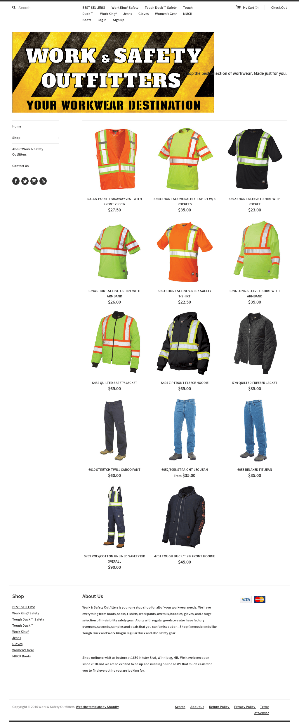 Work King Freezer Jacket Work Safety Outfitters Competitors Revenue And Employees