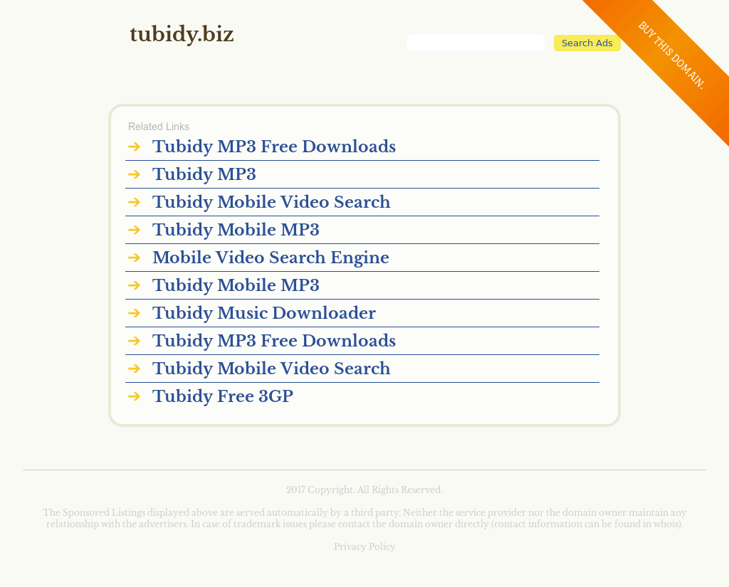 tubidy mobile video search engine free download for android