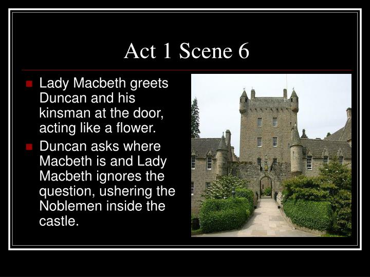 PPT - Macbeth Act 1 Summary PowerPoint Presentation - ID3615120