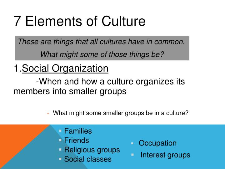 PPT - Culture PowerPoint Presentation - ID3652502