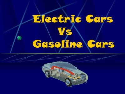 PPT - Electric Cars Vs Gasoline Cars PowerPoint Presentation - ID:3765035