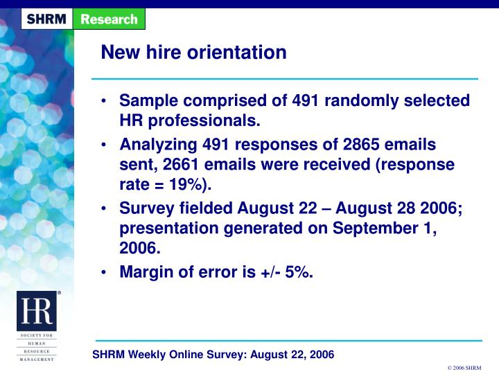 PPT - New hire orientation PowerPoint Presentation - ID3765555