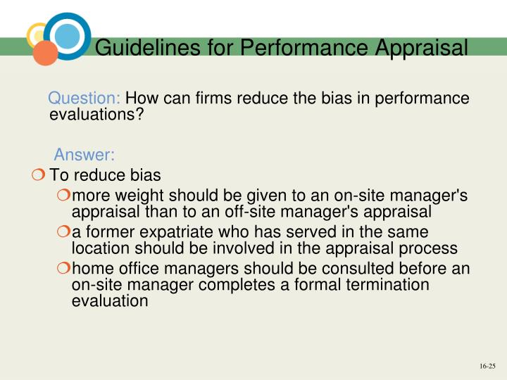 Recommendation For Expatriate Managers
