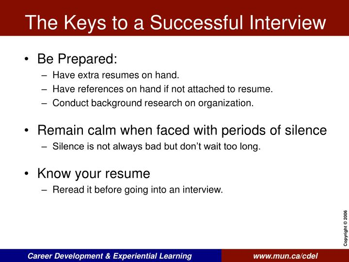 Keys To Successful Interview kicksneakers
