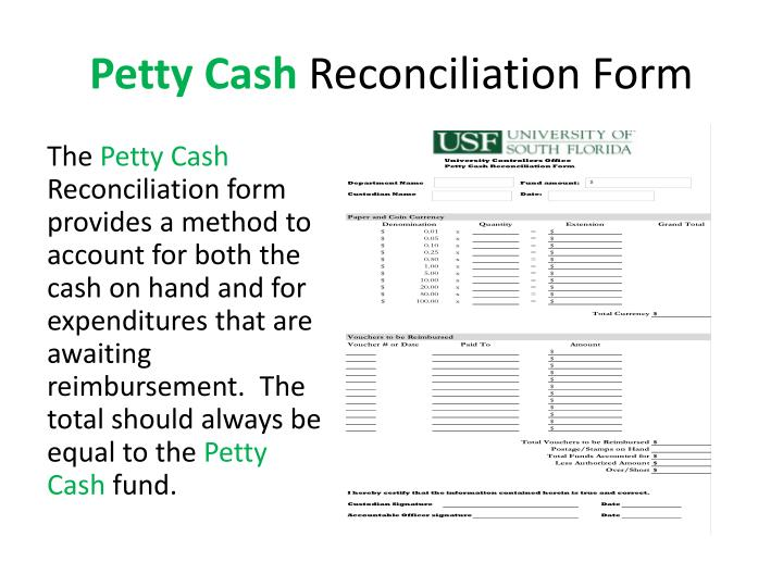 PPT - Petty Cash What is it? PowerPoint Presentation - ID4031773