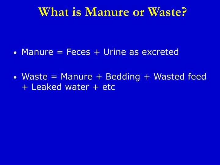 PPT - Animal Waste Management PowerPoint Presentation - ID4269317