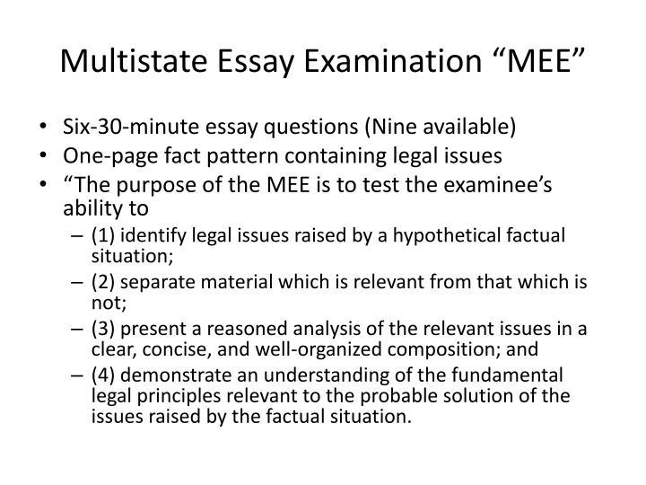 PPT - The Uniform Bar Examination PowerPoint Presentation - ID4361242