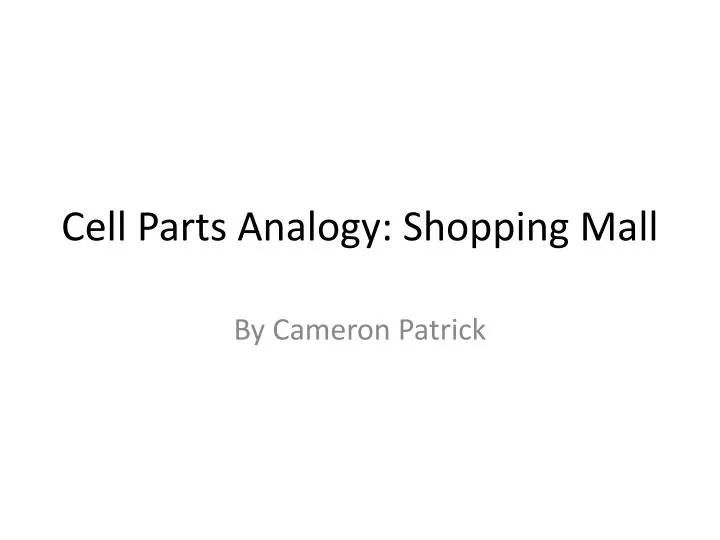 cell analogy mall - Canasbergdorfbib