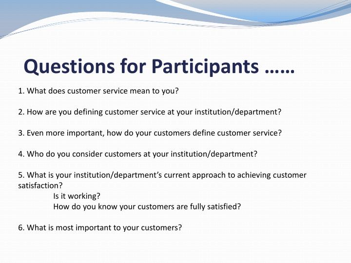 PPT - SURFING YOUR WAY TO BETTER CUSTOMER SERVICE PowerPoint
