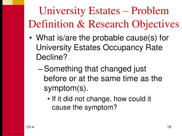 PPT - Defining the Problem and Determining Research Objectives