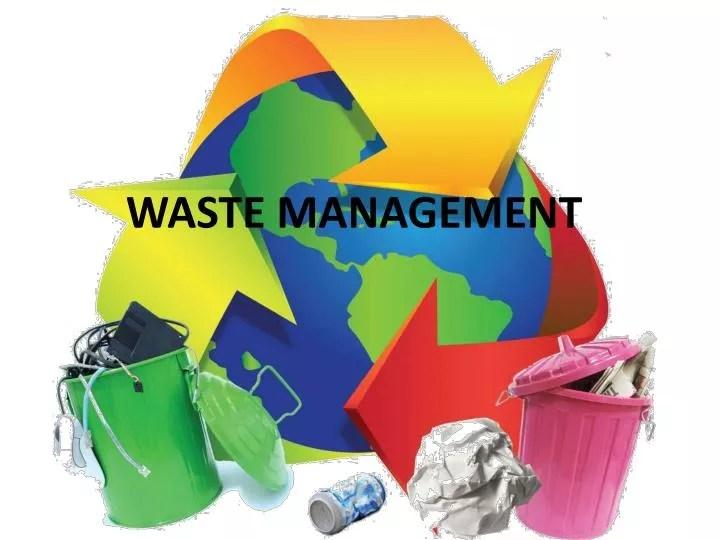 PPT - WASTE MANAGEMENT PowerPoint Presentation - ID4873528 - waste management ppt