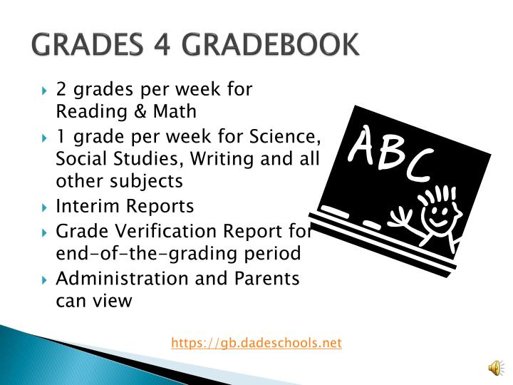 PPT - Official Daily School Attendance (ODSA) / Electronic Gradebook