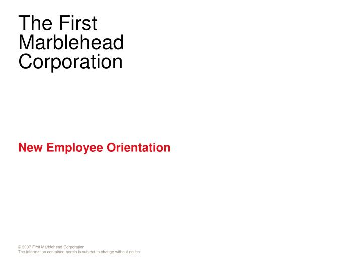 PPT - New Employee Orientation PowerPoint Presentation - ID4905401
