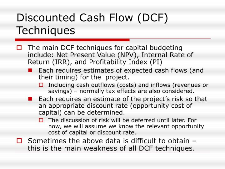 PPT - Capital Budgeting PowerPoint Presentation - ID5092456