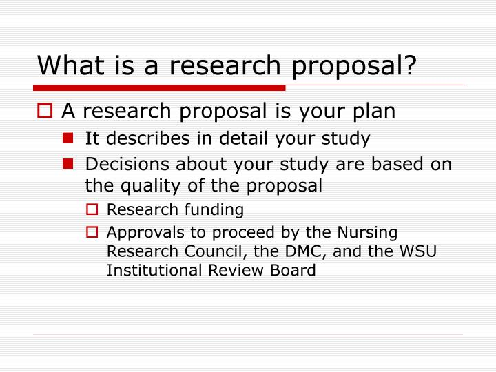 PPT - How to Write a Research Proposal PowerPoint Presentation - ID - what is the research proposal