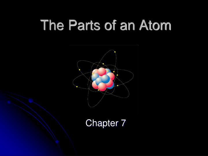 PPT - The Parts of an Atom PowerPoint Presentation - ID5236233