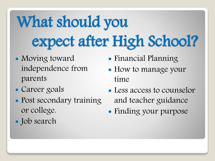PPT - High School Success PowerPoint Presentation - ID5315137