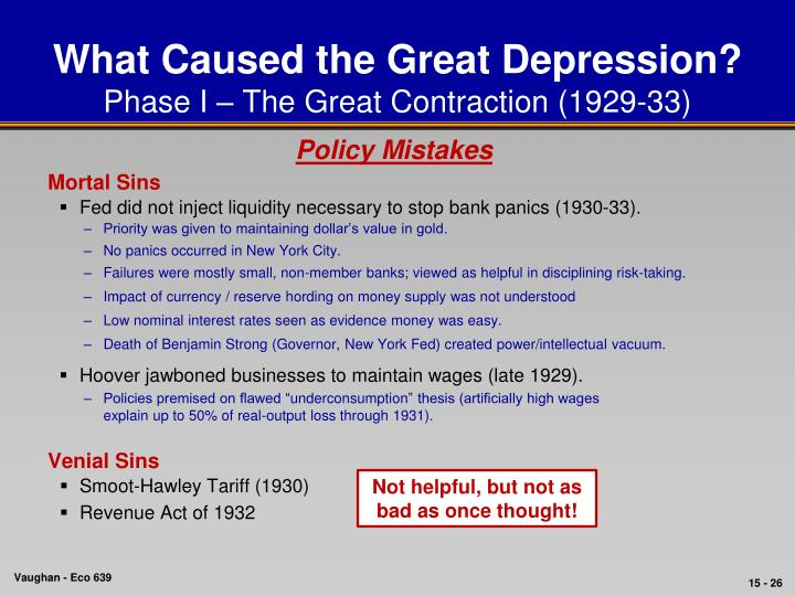 What caused the great depression in 1929 essay Homework Help